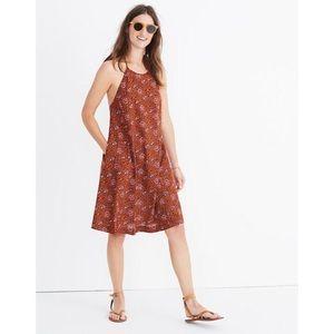 Madewell paisley halter dress